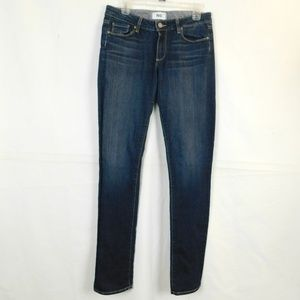 Paige Skyline Straight Leg Jeans Size 30 x 34